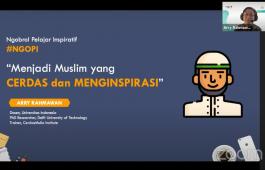 Sesi pemaparan Sahabat Pelajar Indonesia